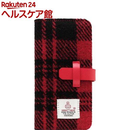 エスエルジーデザイン iPhone X ハリスツイード レッド*ブラック SD10557i8(1コ入)【SLG Design(エスエルジーデザイン)】【送料無料】