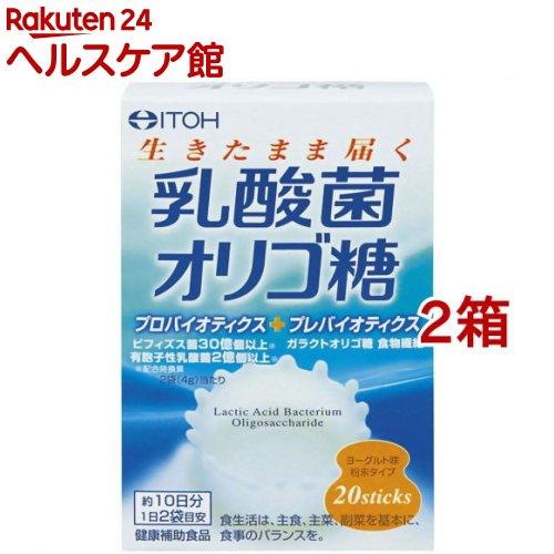 井藤漢方 予約 上等 乳酸菌オリゴ糖 40g 2g 20スティック 2コセット