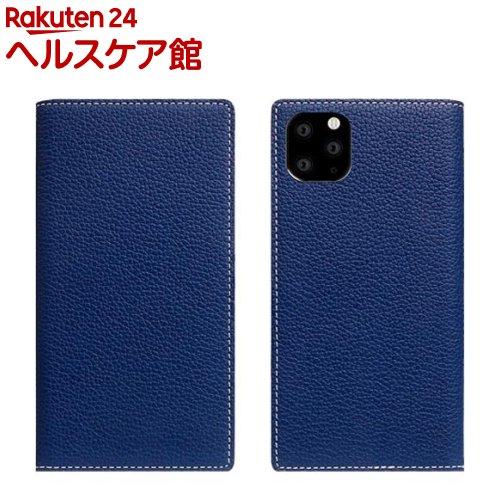 SLG Design iPhone 11 Pro Max Full Grain Leather Case ネイビーブルー SD17958i65R(1個)【SLG Design(エスエルジーデザイン)】