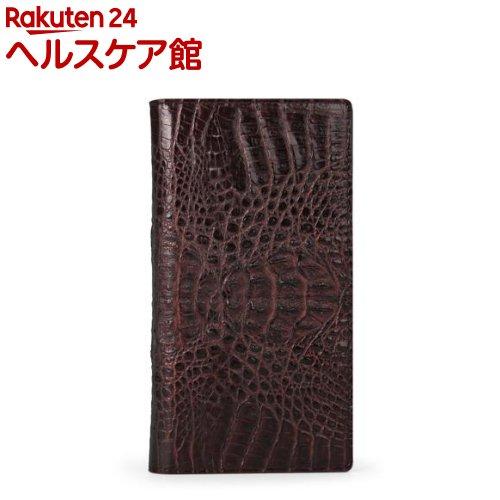 ハンスマレ HUAWEI P10クロコダブルフリップ ブラウン HAN11859HP10(1コ入)【ハンスマレ(HANSMARE)】【送料無料】