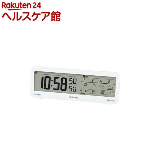 カシオ お天気情報お知らせクロック ホワイト DWS-200J-7JF(1コ入)【送料無料】