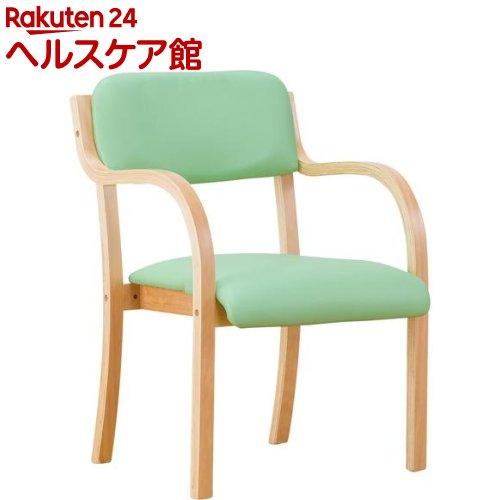 立ち座りサポートチェア グリーン(1コ入)【送料無料】