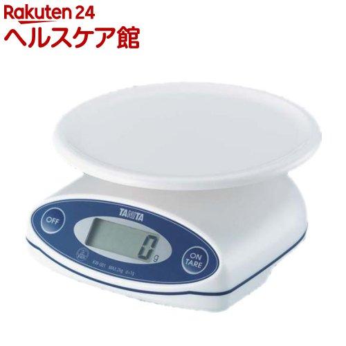 タニタ TANITA デジタルクッキングスケール KW-001-WH 開店祝い 1台 ホワイト 値下げ