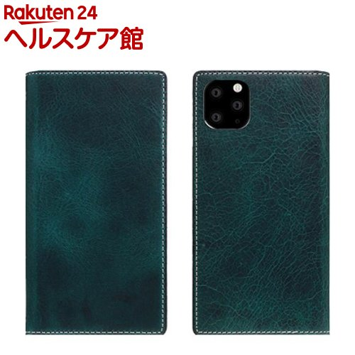 SLG Design iPhone 11 Pro Badalassi Wax case グリーン SD17861i58R(1個)【SLG Design(エスエルジーデザイン)】