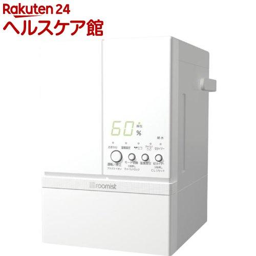 roomist スチームファン蒸発式加湿器 ピュアホワイト SHE60RD-W(1台入)【送料無料】