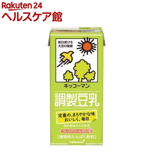 マーケティング キッコーマン 調製豆乳 6本入 保証 1L