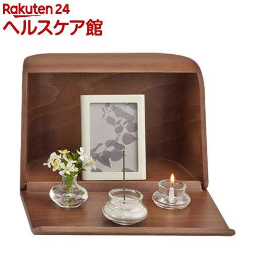 やさしい時間 祈りの手箱 ブラウン(1コ入)【日本香堂】【送料無料】