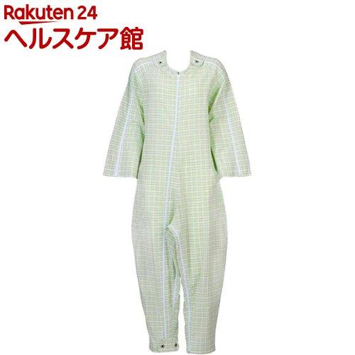 フドー ねまき 5型 スリーシーズン みどり格子 S(1枚入)【フドー】【送料無料】