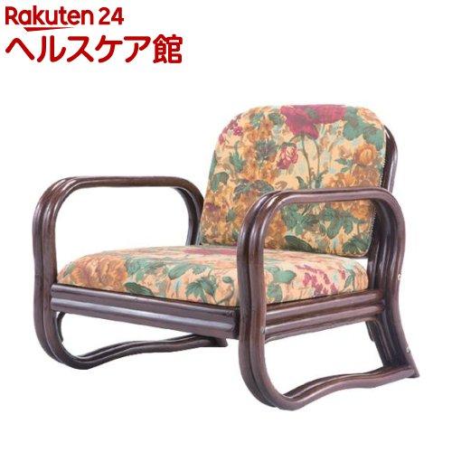 天然籐思いやり座椅子 ロータイプ(1コ)