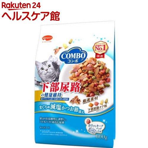 キャットフード コンボ COMBO 猫下部尿路の健康維持 まぐろ味 5袋入 減塩かつお節添え [並行輸入品] more20 スピード対応 全国送料無料 120g