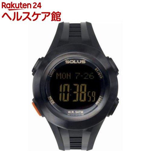 ソーラス 心拍時計(ハートレートモニター) Professonal 101 ブラック(メンズ) 01-101-01(1コ入)【SOLUS(ソーラス)】