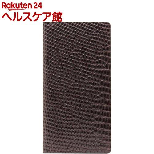 エスエルジーデザイン iPhone6s/6 リザードケース ブラウン SD6668iP6S(1コ入)【SLG Design(エスエルジーデザイン)】【送料無料】