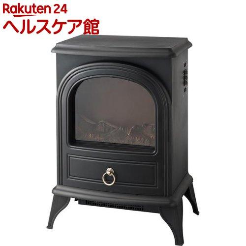 暖炉型ヒーター ノスタルジア ブラック アンティーク調(1台)【送料無料】