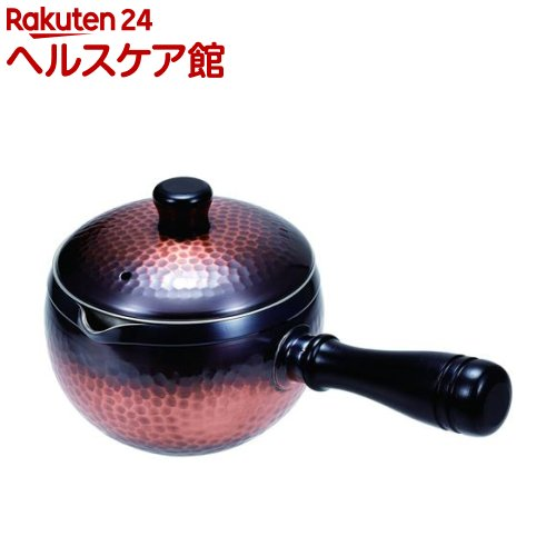 純銅急須 350mL 赤銅(1コ入)【送料無料】