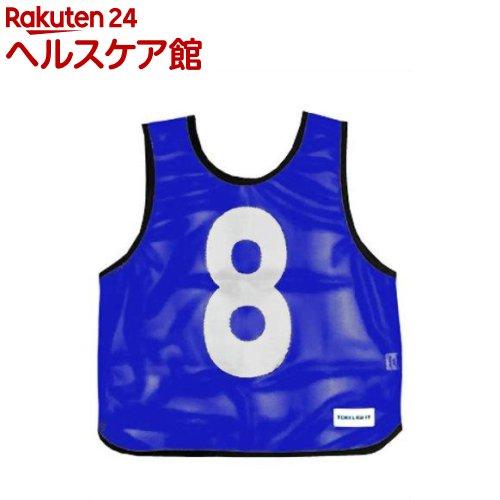 メッシュベスト(1-10) 青 B-7691B(1枚入)【トーエイライト】