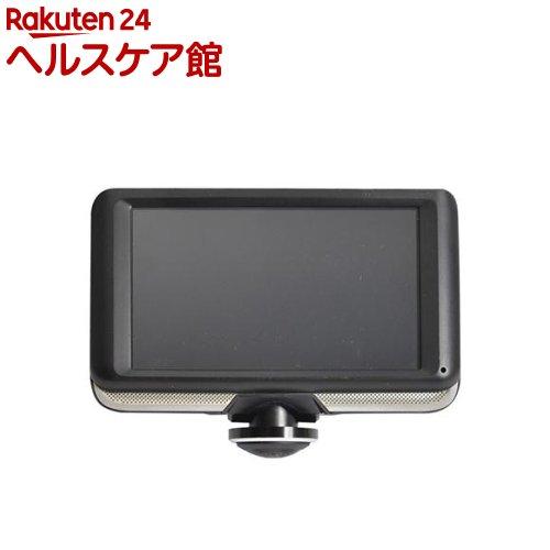 サンコー 5インチ360度ドライブレコーダー&リアカメラ THCARVR36R(1個)