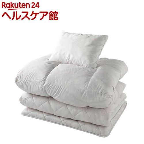 東京西川 布団セット 3点 シングル グレー KF08000001GR(1セット)【東京西川】【送料無料】