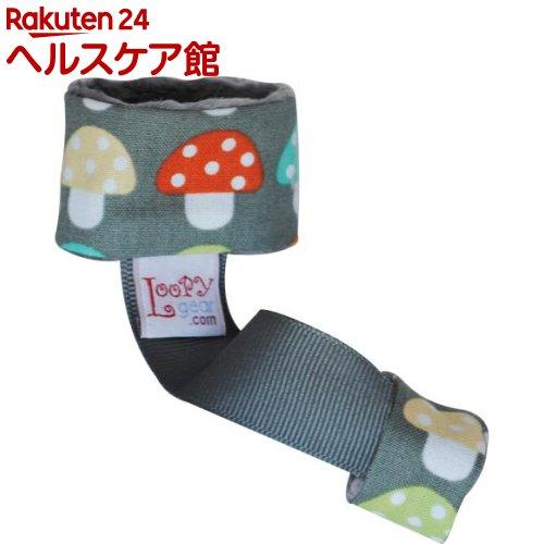 ルーピーギア プレミアム Mushroom PartyGarden おもちゃ ラトルホルダー LGP108(1コ入)【ルーピーギア(Loopy gear)】