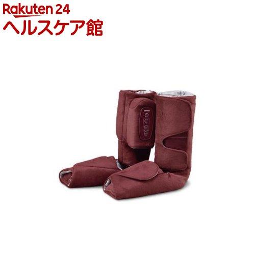 オムロン エアマッサージャ ワインレッド HM-260-WR(1台)【送料無料】