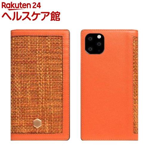 SLG iPhone 11 Pro Max Edition Calf Skin Leather Diary オレンジ SD17970i65R(1個)【SLG Design(エスエルジーデザイン)】