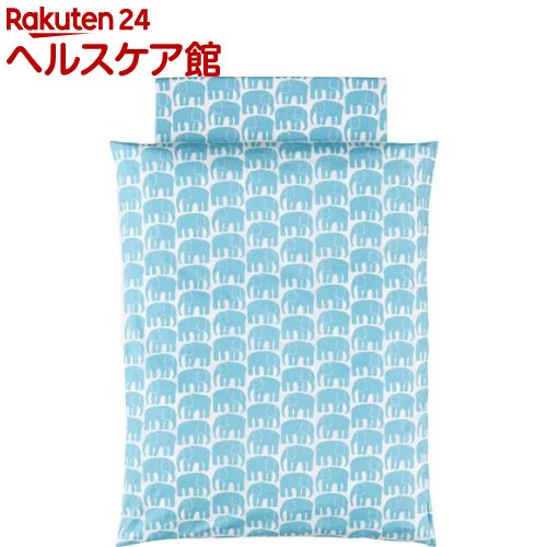 西川 フィンレイソン ベビー合繊カバーリング式 5点組みふとん LF59282010B(1セット)