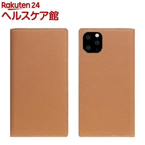 SLG Design iPhone 11 Pro Full Grain Leather Case キャラメルクリーム SD17870i58R(1個)【SLG Design(エスエルジーデザイン)】