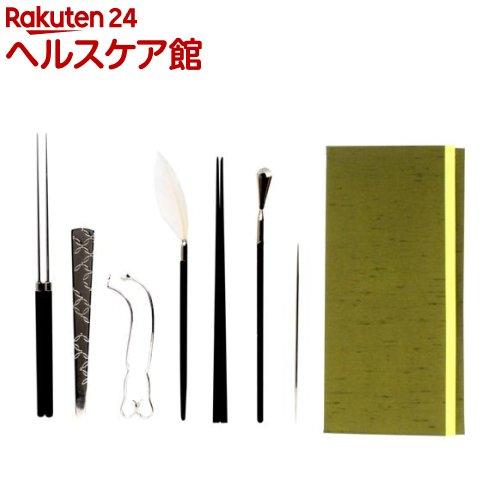 火道具 7点セット(タトウ入)(1セット)【日本香堂】