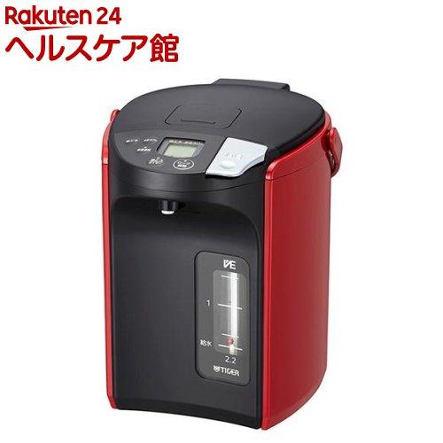 タイガー 蒸気レスVE電気まほうびん レッド PIP-A220R(1台)