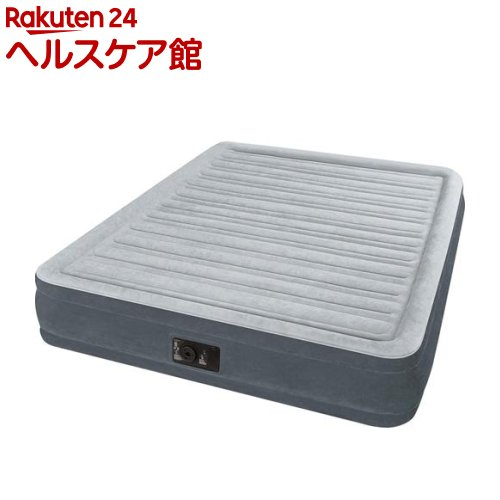 INTEX エアーベッド クィーンコンフォート ワイドダブルサイズ 電動式 U-67769(1個)【INTEX】