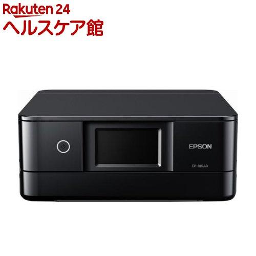 エプソン A4カラーインクジェット複合機 カラリオ EP-881AB ブラック(1台)【エプソン(EPSON)】【送料無料】