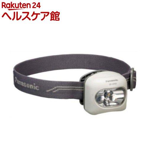 パナソニック LEDヘッドランプ(エボルタ付き) 直径7.5mmスタンダード白色LED採用 BF-AH01K-W(白)(1コ入)