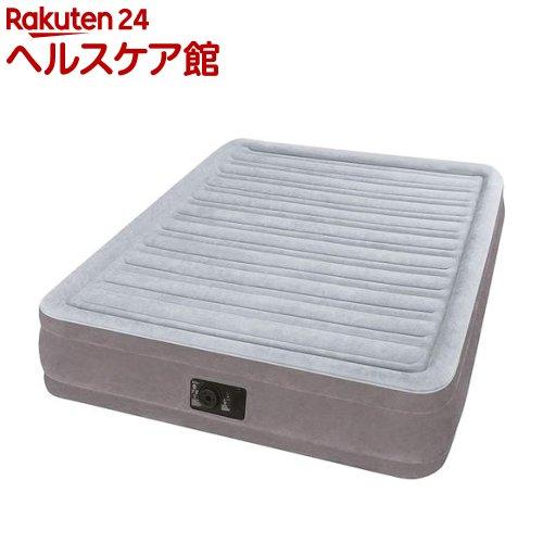 INTEX エアーベッド フルコンフォート ダブルサイズ 電動式 U-67767(1個)【INTEX】