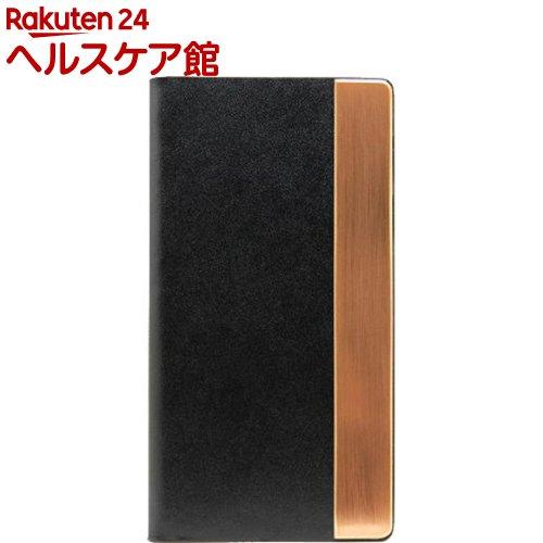 エスエルジーデザイン iPhone6s/6 カーフスキンメタル ブラック SD6674iP6S(1コ入)【SLG Design(エスエルジーデザイン)】
