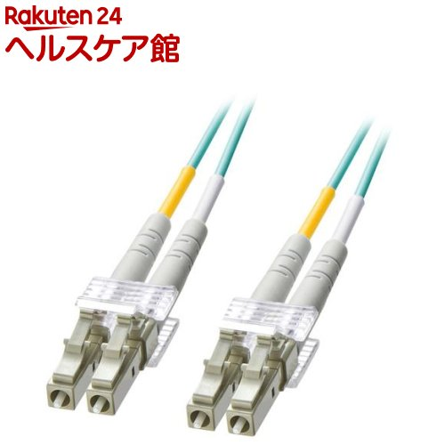 OM3光ファイバケーブル LCコネクタ-LCコネクタ 3m HKB-OM3LCLC-03L(1本入)