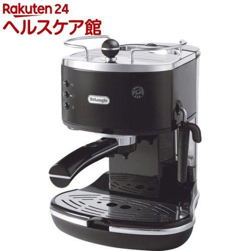デロンギ iconaコレクション エスプレッソ・カプチーノメーカー ブラック ECO310BK(1台)【デロンギ】【送料無料】