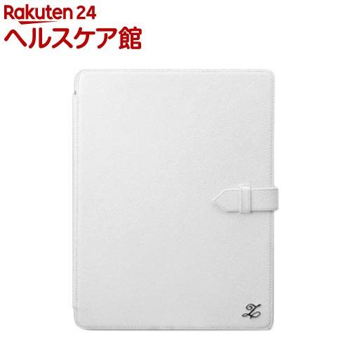 ゼヌス 新しいiPadケース クラシックビジネスポートフォリオ ホワイト Z974NiPD(1コ入)【ゼヌス】