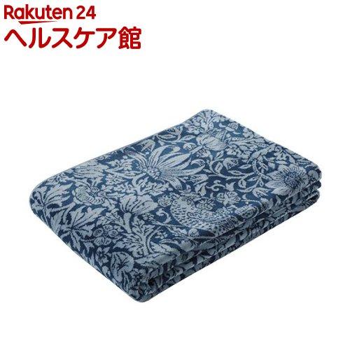 タオルケット シングル サンダーソン ピュアモリス ふっくらネイビー RR08100007NV(1枚入)【東京西川】【送料無料】
