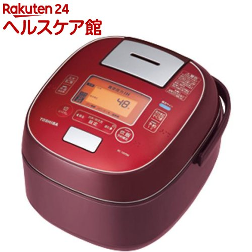 東芝 真空圧力IH炊飯器 ディープレッド RC-18VSM(1台)【東芝(TOSHIBA)】