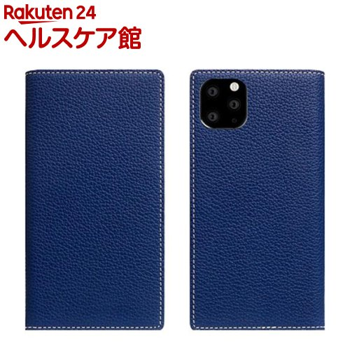 SLG Design iPhone 11 Pro Full Grain Leather Case ネイビーブルー SD17876i58R(1個)【SLG Design(エスエルジーデザイン)】