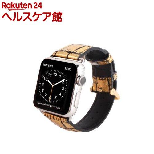 ゲイズ AppLe Watch用バンド38mm ゴールドクロコ GZ0476AW(1コ入)【ゲイズ】【送料無料】