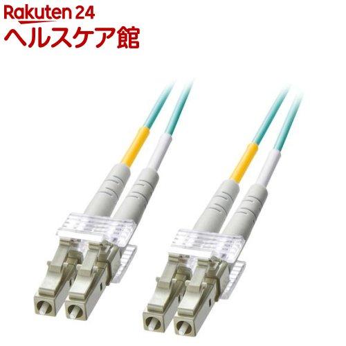 OM3光ファイバケーブル LCコネクタ-LCコネクタ 10m HKB-OM3LCLC-10L(1本入)