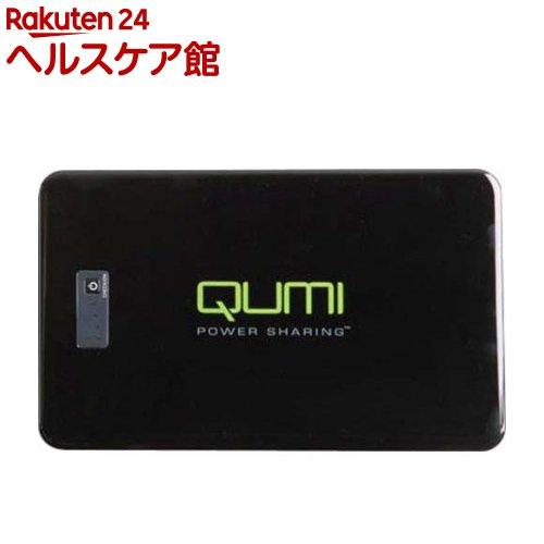 QUMI QUMI専用モバイルバッテリー18000mAh ブラック QB-180K-B2(1コ入)【送料無料】