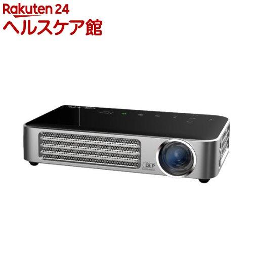 QUMI LEDプロジェクター ブラック Q6-BK(1セット)【送料無料】