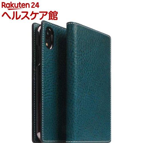 SLG iPhone XR ミネルバボックスレザーケース ブルー SD13681i61(1個)【SLG Design(エスエルジーデザイン)】