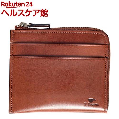 イル・ブセット L字型ジップ財布 ブラウン(1コ入)【Il Bussetto(イル・ブセット)】
