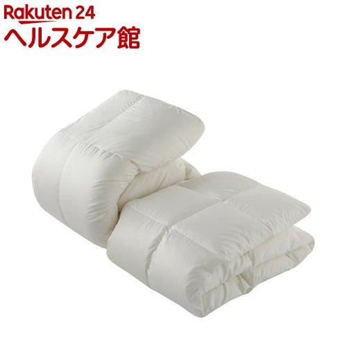 東京西川 デュエット羽毛布団 ダブル ホワイト KA28156071W(2枚組)【東京西川】