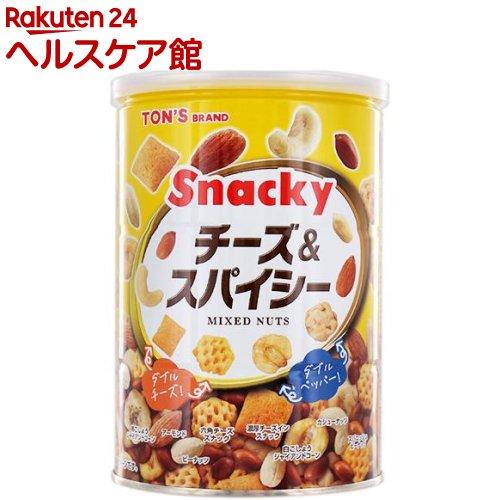 TON'S / 東洋ナッツ食品 チーズ&スパイシー 缶 東洋ナッツ食品 チーズ&スパイシー 缶(300g)【spts3】【more20】【TON'S】