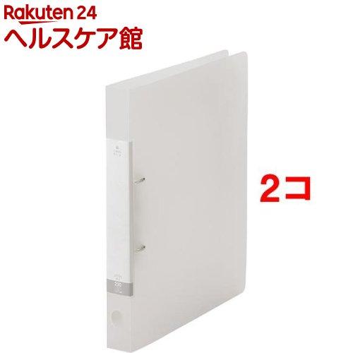 リクエスト D型リングファイル クリヤー G2220-1 リクエスト D型リングファイル クリヤー G2220-1(1冊*2コセット)