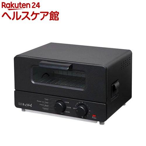 スチームトースター シェフ ブラック ST-70091(BK)(1台)【送料無料】