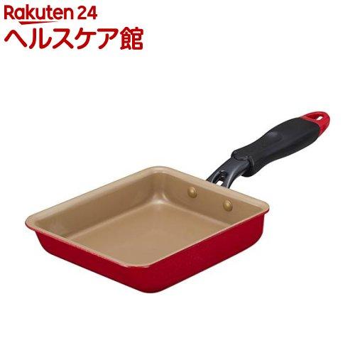 エバークック 商品 evercook 玉子焼き小型 13 驚きの値段 1コ入 18 レッド
